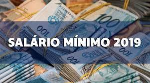 salario mínimo 2019