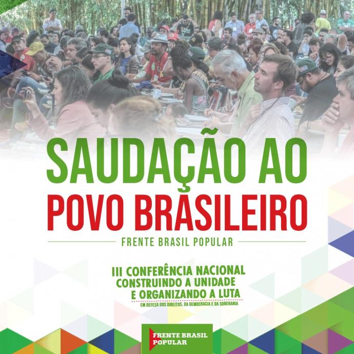 saudacao ao povo brasileiro